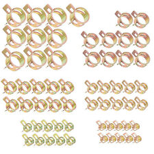 60Pcs Fuel Line Hose Spring Clip Water Pipe Tube Clamps Tool 6/9/10/12/14/15mm