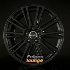 4 Cerchi in lega WHEELWORLD wh18 NERO LUCIDO VERNICIATO (SW PLUS) 8x18 et35 5x112 ml6