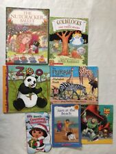 MIXED LOT OF 7 Kids Paperback Illustrated Books