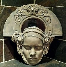 Marc Sijan Sculptured Girl (kneeling) Mirror ~ Signed ~ RARE