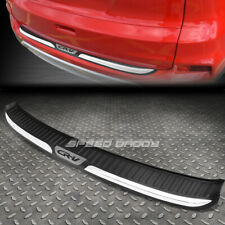 FOR 12-16 HONDA CR-V TPE CHROME TRIM TRUNK/REAR BUMPER PROTECTOR COVER PLATE