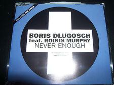 Boris Dlugosch Feat Roisin Murphy Never Enough Australian CD Single