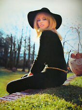 1973 Nathalie Delon Japan VINTAGE Poster Calendar 20x29 VERY RARE