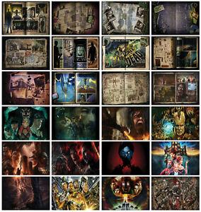 Call of Duty Zombies Loading Screens Posters Treyarch Zombie A4 Satin Gloss Matt