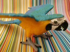 SAFARI Ltd blue gold macaw parrot LAST ONE retired animal BNWOT bird 264029