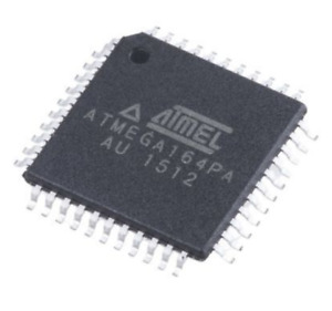 8 bit AVR Microcontroller 20MHz 16kB Flash ATMEGA164PA-AU TQFP-44