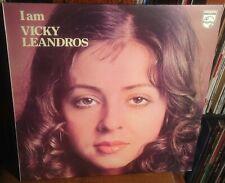 VICKY LEANDROS i am 1971 UK PHILIPS STEREO VINYL LP
