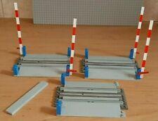 LEGO 4.5V 3x 158 Railroad Crossing Gate 4.5 Volt Train Rails Railway Eisenbahn
