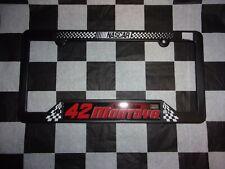 Juan Pablo Montoya #42 NASCAR Plastic Licence Plate Frame