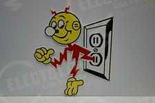Reddy Kilowatt Power Light Bulb Electric RECEPTICAL SIGN GREAT ELECTRICIAN GIFT