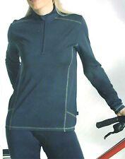 funktionelles Damen langarm Fahrradshirt / Trikot blau Gr.40