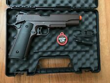 Double Bell M1911 GBB Airsoft Pistol CRIMSON BROWN