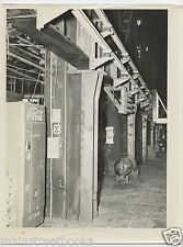 PITTSBURGH STEEL CO. 1953 PHOTOGRAPH Coca-Cola Machine in STEEL MILL Monessen PA