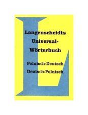 Langenscheidts Wörterbuch POLNISCH - Langenscheidt Universal Lexikon Sprachen