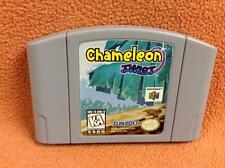 Chameleon Twist Nintendo 64 N64 *Authentic* Game Super Fast FREE SHIPPING!