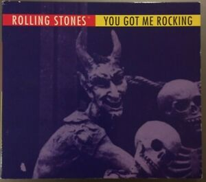 ROLLING STONES You Got Me Rocking 4 Track Digipak Virgin U.K. CD Single 1994