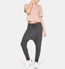 $100 Under Armour Misty Pants Joggers Harem Yoga Grey Women's Large 1342685 010