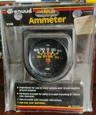 "Equus 6140 Ammeter Gauge 2"" Black"