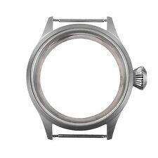 Sapphire Glass 43mm Parnis watch Case Fit ST36 ETA UNITAS 6497/ 6498 movement