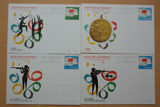 Olympiade 1984, Olympic Games, Sport - China - 16 Ganzsachen