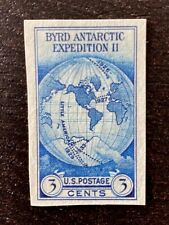 US Stamps, Scott #768a 1935 Byrd Expedition 3c Single. No gum as issued. Fresh