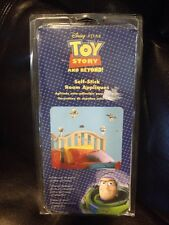 NEW Disney Toy Story BUZZ LIGHTYEAR Self-Stick Room Decor Wall Appliques 20+