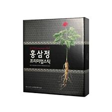 Chamdahan Korea 1% Premium Made with Grind RED GINSENG Stick 12ml * 30EA