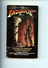 INDIANA JONES AND THE TEMPLE OF DOOM , Kahn, 1984, movie tie-in,   US 1st SB VG