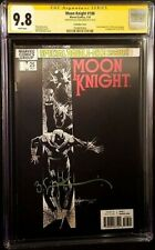 New ListingMoon Knight 2018 Series Complete Rare Htf Variants Cgc Graded 9.8 Signed W/Coa