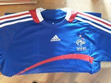 ba9edf906f5bb MAILLOT FOOT ADIDAS EQUIPE DE FRANCE FFF VINTAGE TAILLE 12 Ans NEUF