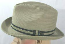 Country Gentleman Mens Fedora Hat Tan Size Medium