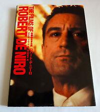 The Film of Robert De Niro Japan Photo & Text Book 1997 Taxi Driver Deer Hunter