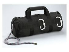 Police Hiking Trail Black Stealth Tactical Rappelling Line Rope Deploy Throw Bag