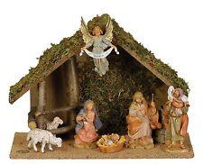 "Roman, Inc. 5"" Fontanini 7 Piece Nativity Set with Figurines (54564)"