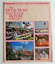 1988 Walt Disney World Resort Vacation Guide - Orlando , Mickey Mouse , Epcot