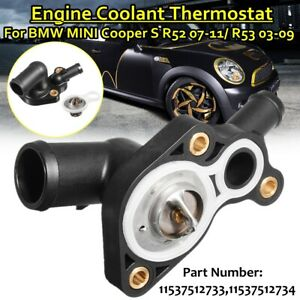 Engine Coolant Thermostat W/ Housing For BMW MINI R50 R52 R53 Cooper S AU