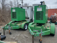New 2011 Waterous CXVT 1000 GPM Mobile Diesel Dewatering Pump w/ 1000' of Hose