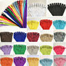 12-16Inch (30-40cm)Nylon Coil Zippers Bulk for Sewing Crafts 50-100pcs(20 Color)