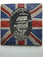 Sex Pistols God Save The Queen Mosaic Picture art USA