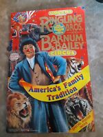 Ringling Brothers And Barnum And Bailey Circus Program 121st Edition 1991 Poster