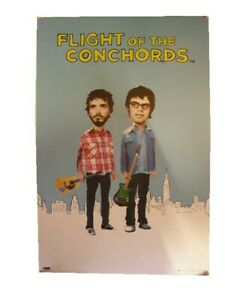 Flight of the ConChords Poster Commercial