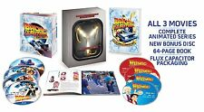 Back to the Future Trilogy + Animated Series Flux Edition Blu-ray Boxset New