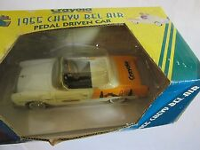 NEW Crayola Gearbox 1955 Chevy Bel Air Pedal Driven Car Rare Collectible