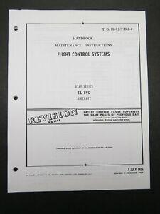 1956/57 Air Force Cessna  T L-19 D Flight Control Systems Maintenance Manual