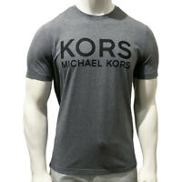 NWT MICHAEL KORS AUTHENTIC MEN'S GRAY CREW NECK SHORT SLEEVE T-SHIRT