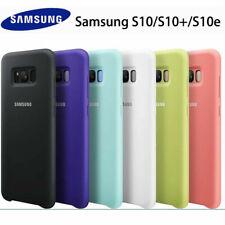 Genuine Original Silicone Case Cover For Samsung S10 S20 Ultra S9 Plus Note 10 9