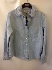 Limited Edition for M&S Collection Long Sleeve Pure Cotton Shirt Size: 12
