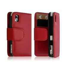 Housse coque etui Portefeuille pour Samsung s5230 Player One rouge