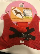 Step-In Harness Red Size XL