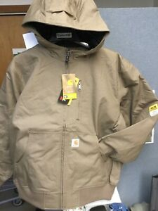 Carhartt 101493-908 Jefferson Quick Duck Active Jacket - Quilt Lined